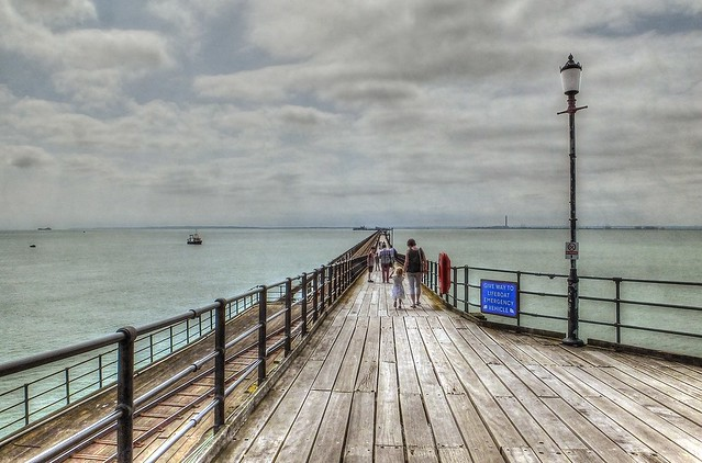 Southend is The Pier....longest pier in the world. 1.34 miles.