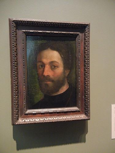 DSCN1360 _ Portrait of a Man, c 1516, Sebastiano Luciani, called Sebastiano del Piombo, Blanton Museum, Austin