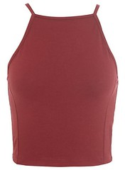 90s square crop miss selfridge burgundy