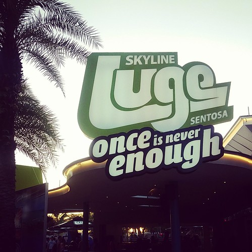 Skyline Luge Sentosa - Once is never enough