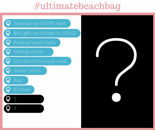 We're Down to the Wire! Today's Ultimate Beach Bag Reveal is…