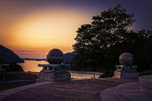 United States Military Academy West Point Battle Monument Sunset HDR 6X4