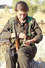 Kurdish Girl Guerilla