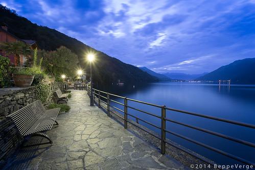 """Lago D'orta from the book """"Lamberto, Lamberto, Lamberto"""" by Gianni Rodari"""