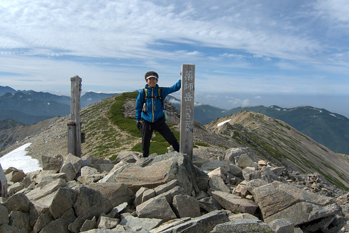 薬師岳登頂