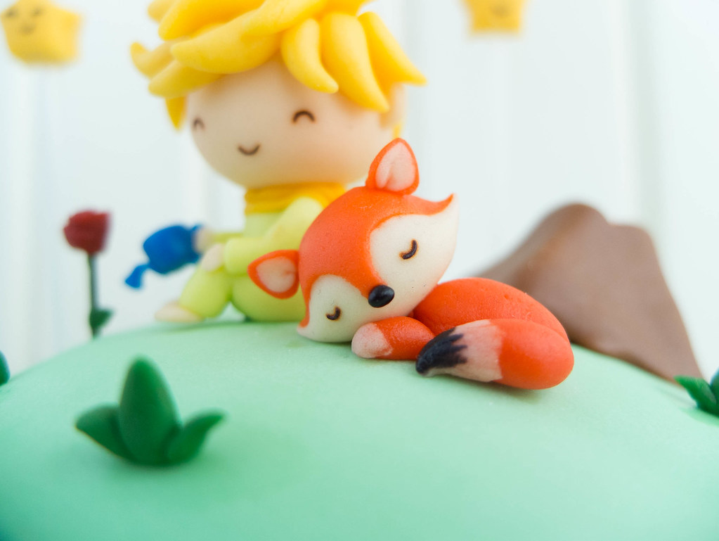 The cake studio character cakes the little prince Decoration le petit prince