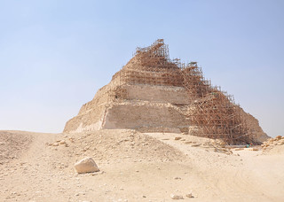 Image of Pyramid of Djoser.