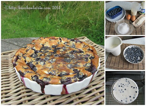 ©Blueberry batter pudding from Nigel Slater Collage