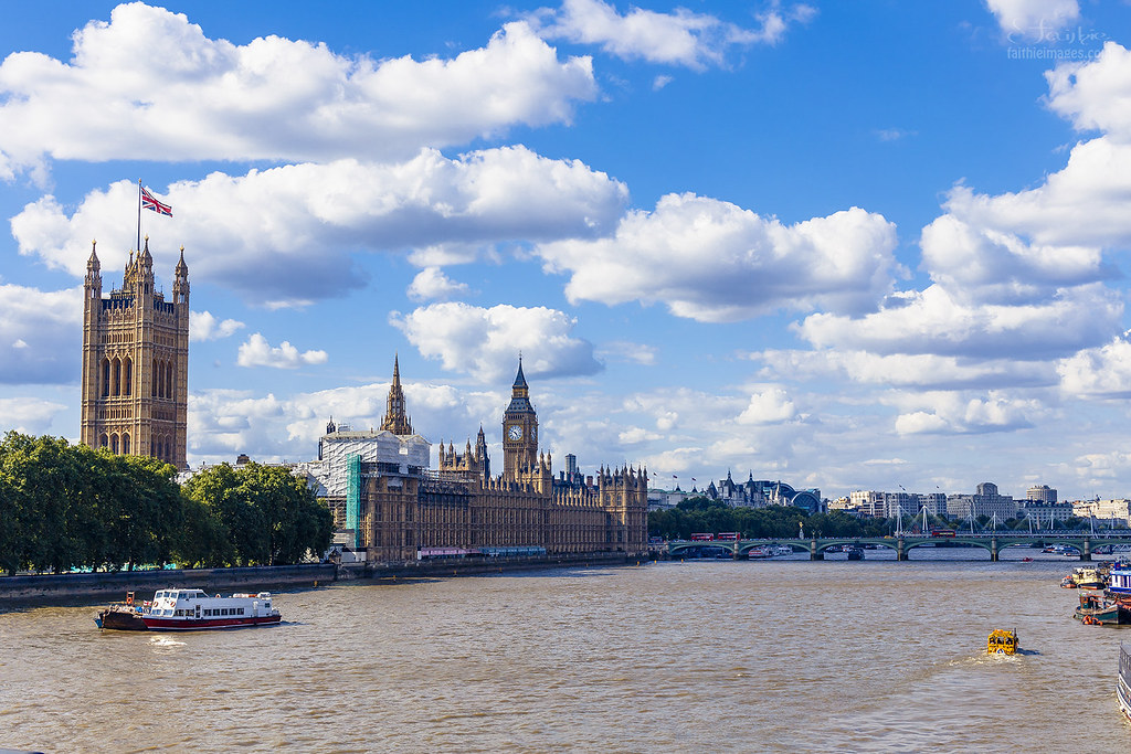 Westminster and the river Thames