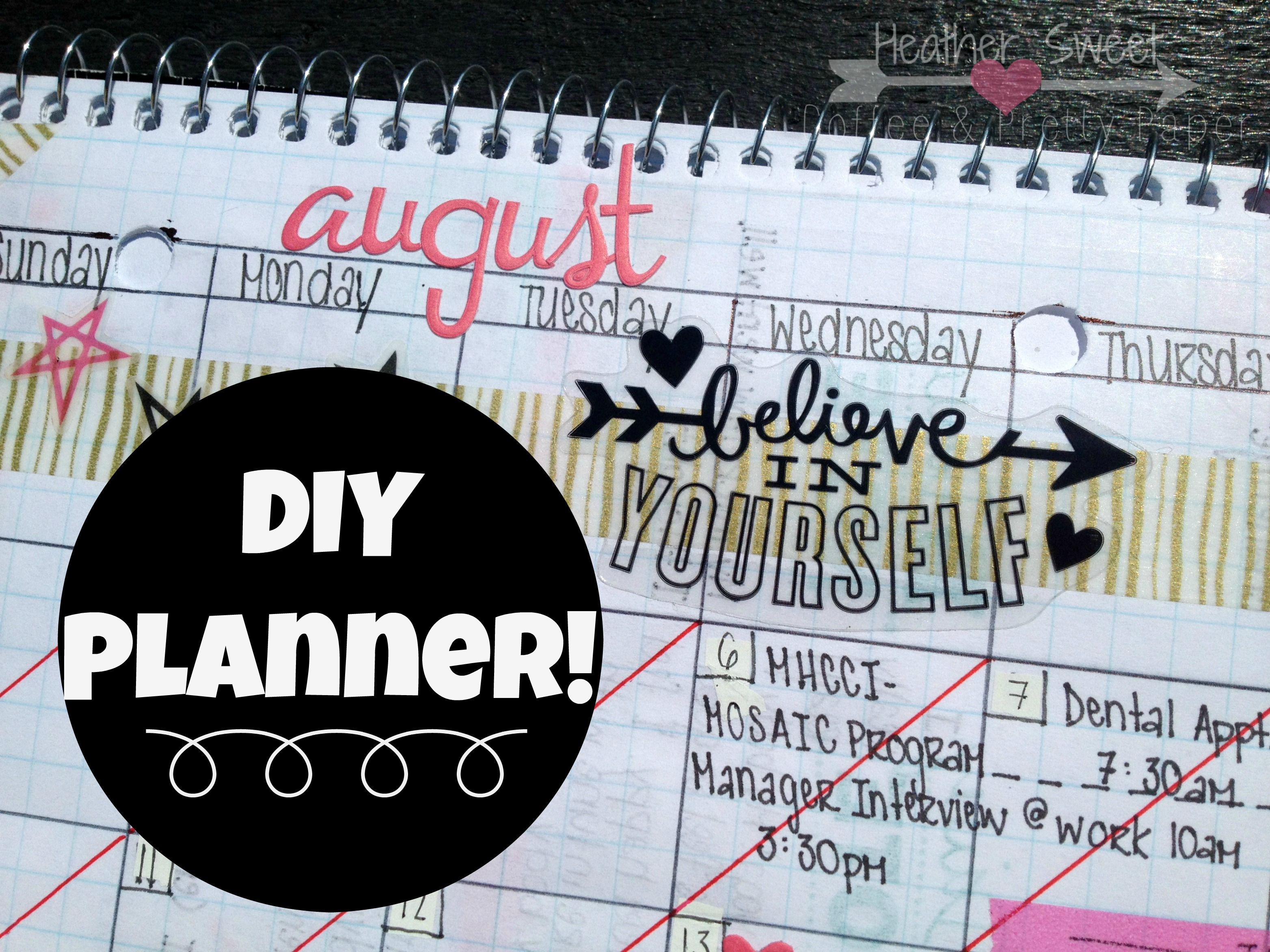 DIY Planner Blog Post Promotion