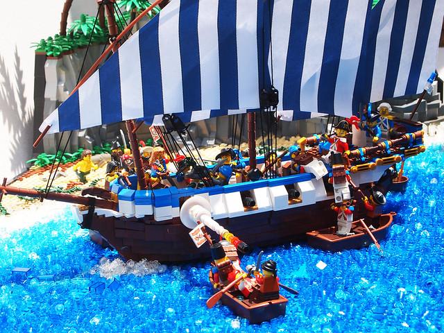 Battle in Buccaneer Bay.