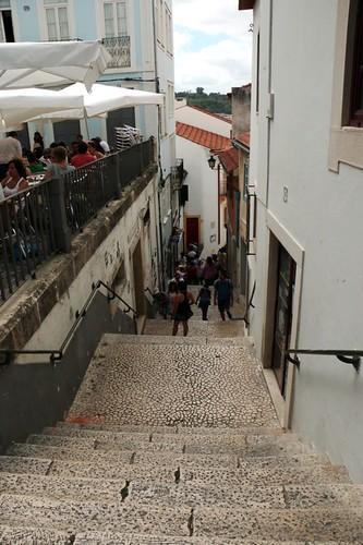 Vicoli del centro di Coimbra