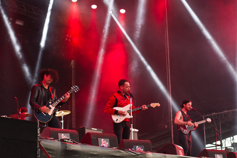 Albert Hammond Jr at Super Bock Super Rock 2014