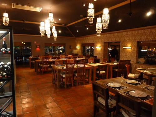 Interior del lugar