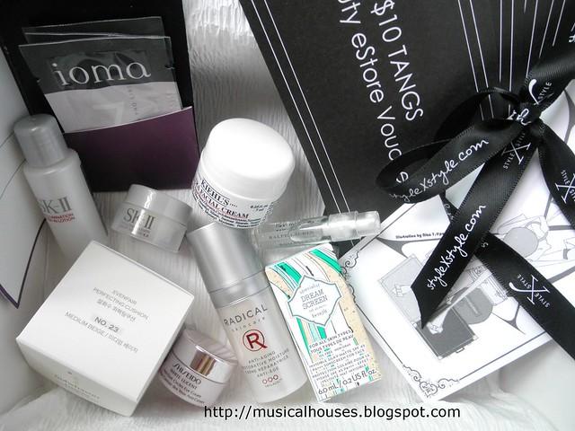 StylexStyle Beauty Black Box Contents