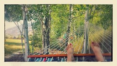 #HowISpentMySummer Day 25 (Aug 22) Fall asleep in a hammock - DONE!