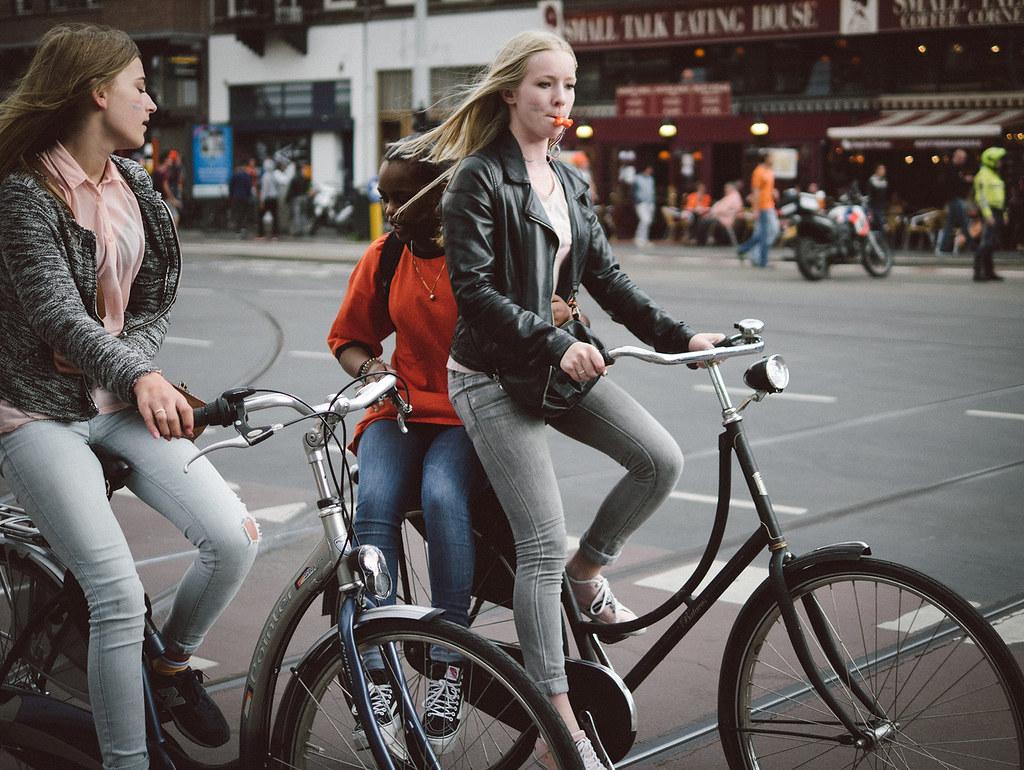 Two Bikes Three Friends