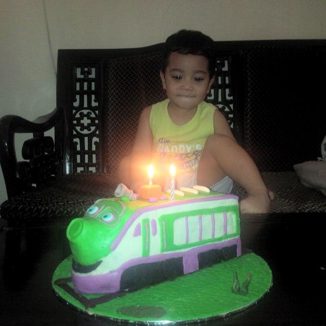Kue ulang tahun Chuggington