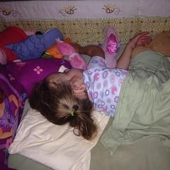 Last #sleep. She was facing the wall :(. #sobig