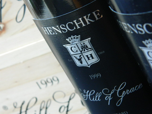 Henschke 'Hill of Grace' Shiraz 1999 Boxed in Wooden Cases!