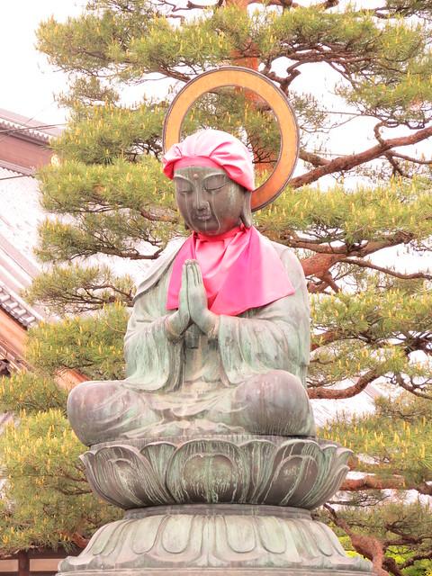 Roku Jizo, Zenkoji, Nagano