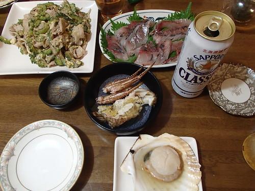 一天経過的生魚片 比較 新鮮的生魚片 都好喫 - naniyuutorimannen - 您说什么!
