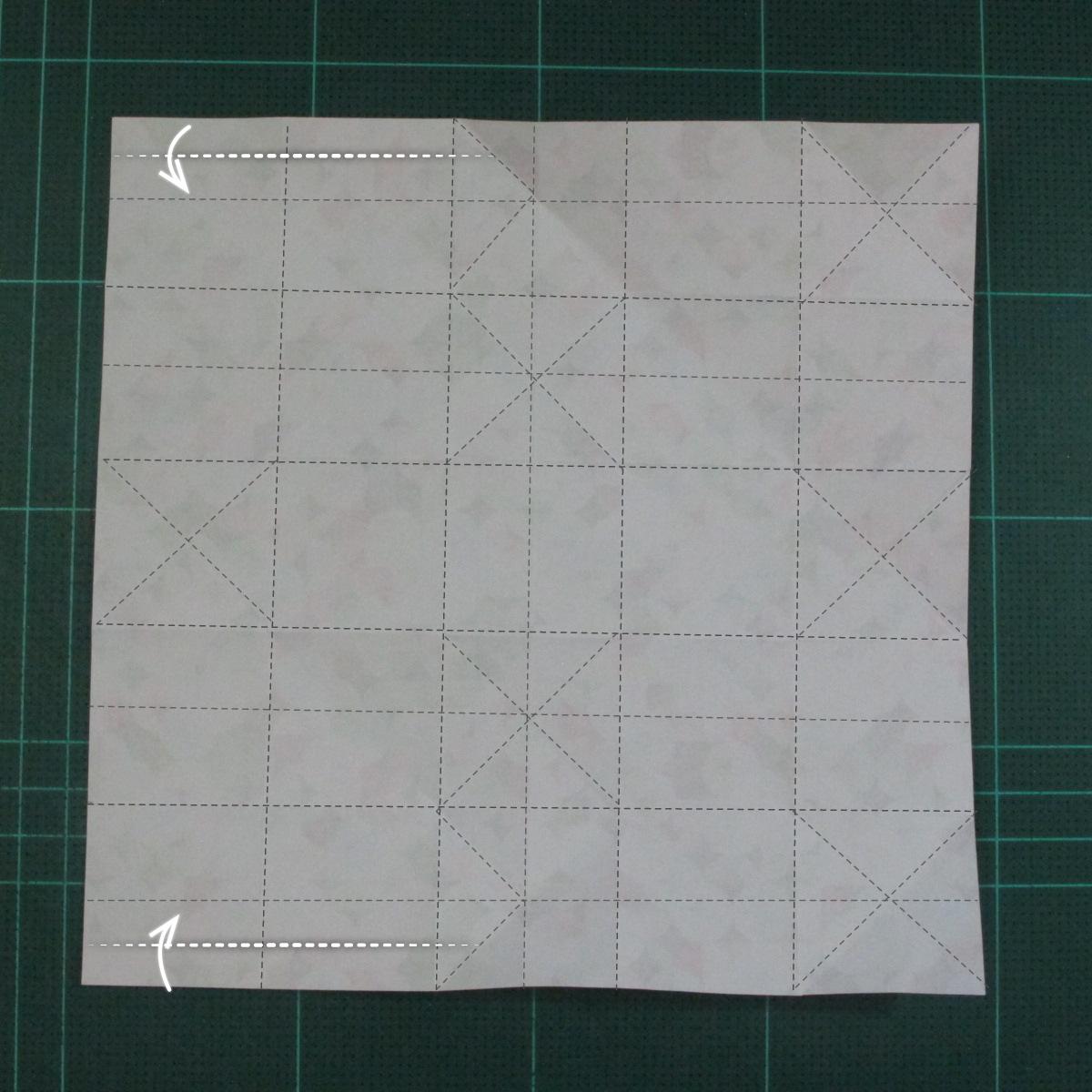 วิธีพับกล่องของขวัญแบบมีฝาปิด (Origami Present Box With Lid) 015
