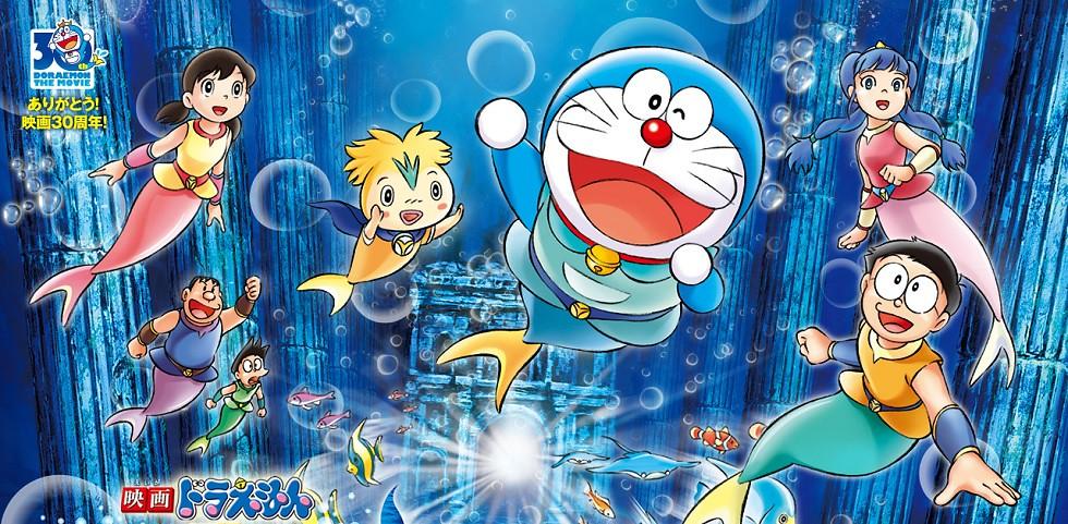 Xem phim Doraemon Movie 30: Nobita&#39s Great Mermaid Naval Battle - Doraemon: Nobita Đại Chiến Xử Sở Người Cá [Bản BluRay] | Eiga Doraemon: Nobita no Ningyo Daikaisen [BluRay Disc] Vietsub