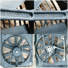 #For#Sale#Used#Parts#Mercedes#Benz#OEM#R129#SLClass#alyehliparts#alyehli#UAE#AbuDhabi#AlFalah#City  For Sale Mercedes Benz OEM R129 SL Class Used Parts - Radiator Fans With Fan's Cover  Models: 300 SL USA 90-93, 300 SL-24 90-93, 500 SL USA 90-92, SL 320