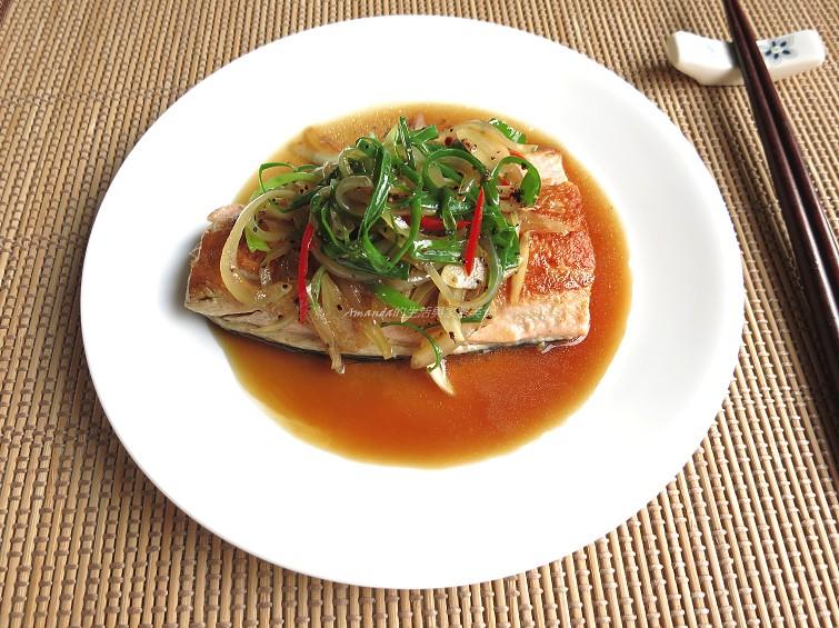黑胡椒鮭魚 (1)