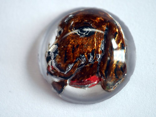 """Essex Crystal"" Dog Cabochons - 4"