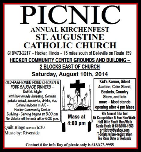 Hecker Kirchenfest 8-16-14