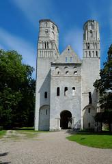 Seine Maritime - Abbaye de Jumièges