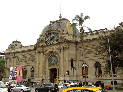 Santiago, museo de Bellas Artes