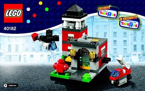 LEGO Bricktober Fire Station (40182)
