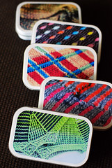 Knitter's Tool Tins with leethal photos!
