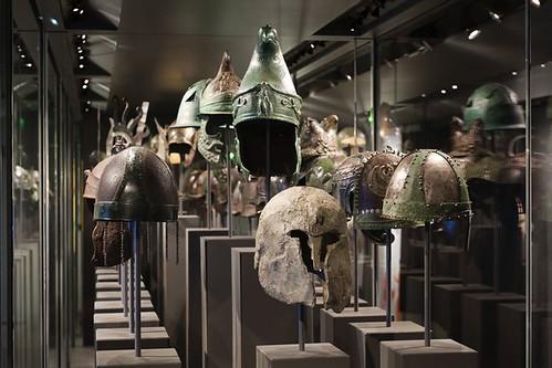 Greco-Roman armor display