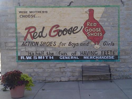 mural ad advertisement kansas outsideart osagecounty melvern redgoose