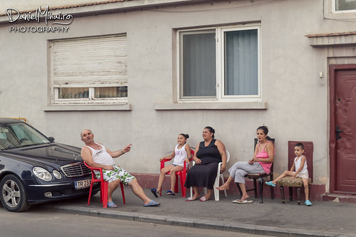 Relaxing on the street by Daniel Mihai