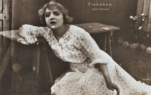 Karin Molander in Fiskebyn