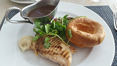 Roast Chicken, The Grand Hotel, Brighton.