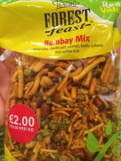 Bombay mix 200gram bag bought at tesco