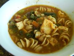 Tofu Vegetable Soup