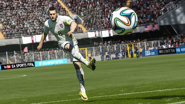 How the World Cup Influenced FIFA 15 on PS4
