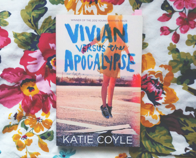 vivian versus the apocalypse katie coyle hot key books book review book blogger uk vivatramp