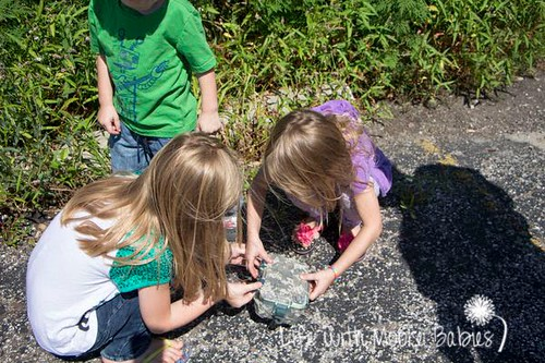Pirate Treasure Hunt and Geocaching (Photo from Life with Moore Babies)
