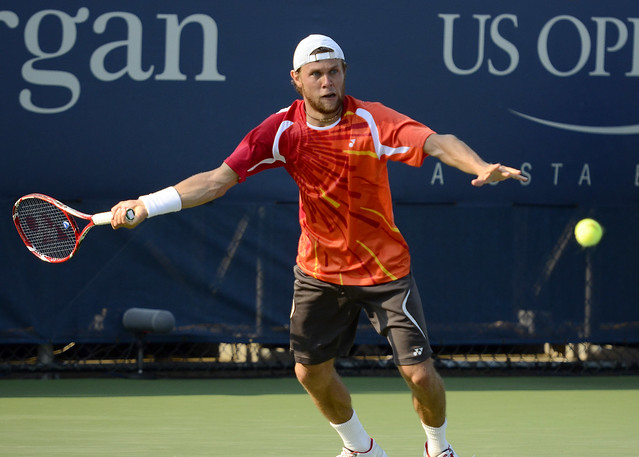 2014 US Open (Tennis) - Tournament - Radu Albot