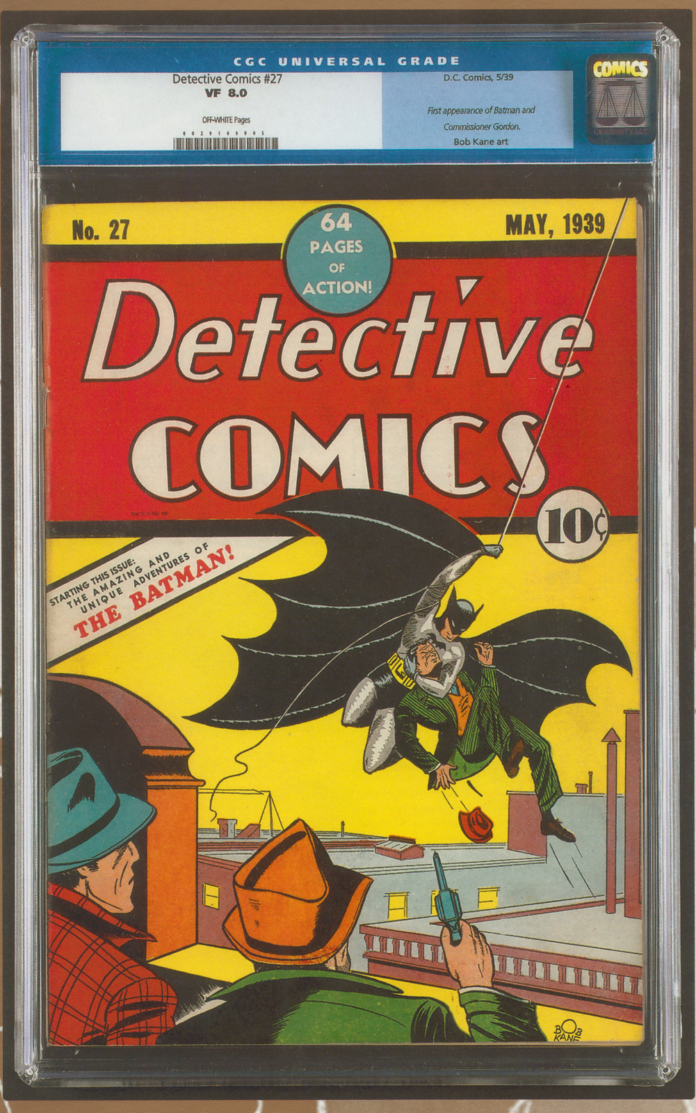 Detective 27 CGC as Scanned from the Mastro Catalog
