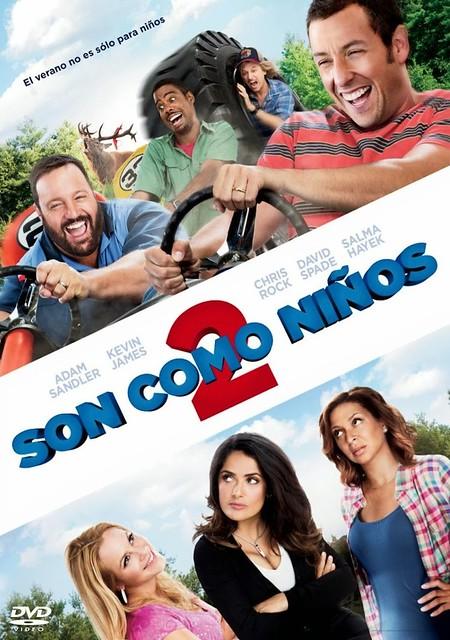 Son Como Niños 2 [2013] [DvdRip] [Latino]