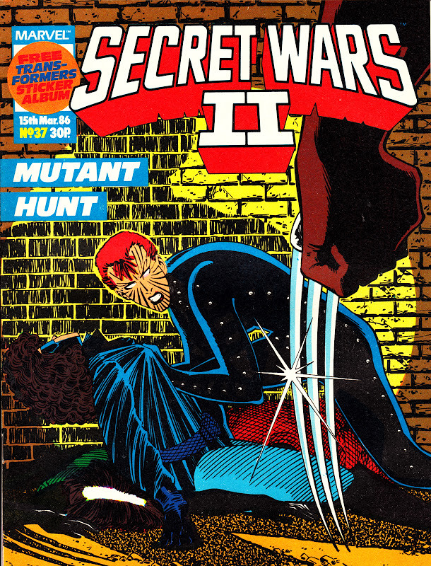 Secret Wars II #37